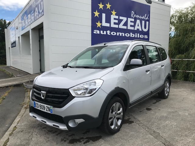 Dacia Lodgy Stepway dci 115 cv 7 Places Diesel gris Occasion à vendre